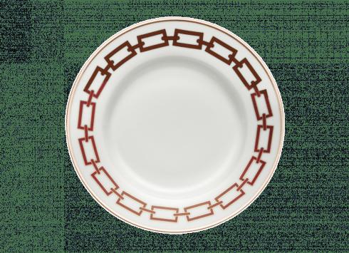 Richard Ginori 1735 Catene Scarlatto Dessert Plate- Set of 2 $160.00