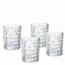 Bossa Nova Whiskey Glasses Set of 4