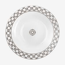 Hermes Fil D'Argent Round Deep Platter collection with 1 products