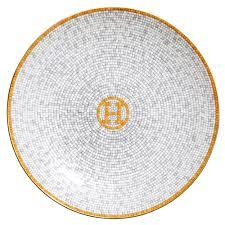 $135.00 Hermes Mosaique Au 24 Bread and Butter Plate