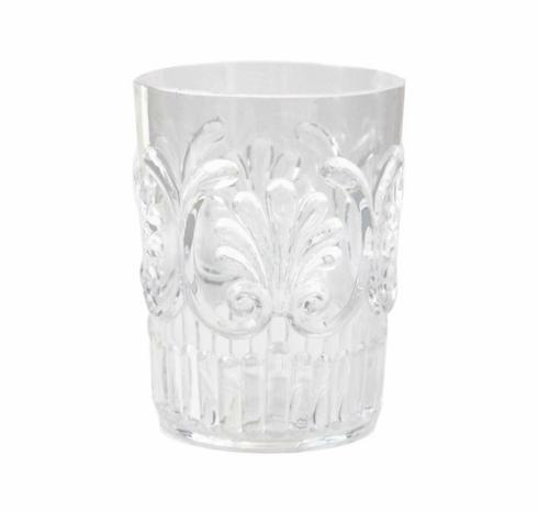 $9.50 Poly Small Clear Tumbler