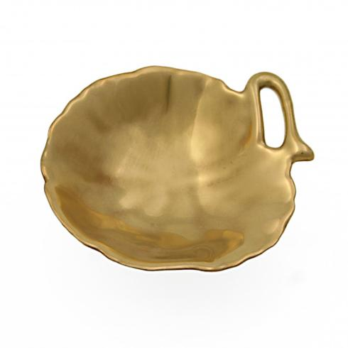 Geranium Gold Leaf Dish 3 in. collection with 1 products