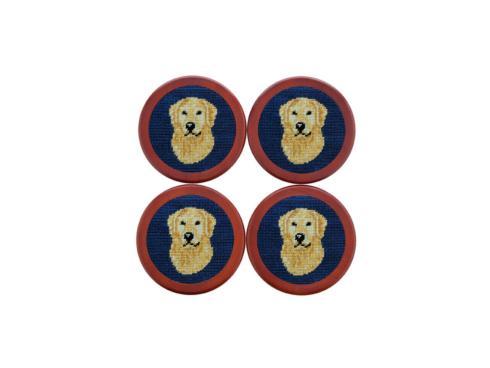 $75.00 Golden Retriever Coaster Set