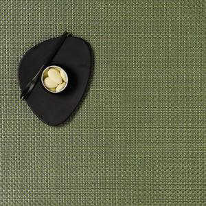 Chilewich   Rectangle Grass Green Basketweave Placemat $14.00