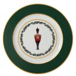 Bernardaud  Grenadiers (Recently Discontinued) Grenadiers Green Soldier Accent Plate $69.00