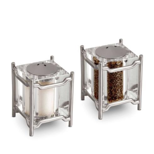 L'Objet  Salt and Pepper Shakers Han Platinum $195.00