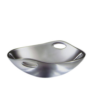 "Nambé   10"" Handled Bowl  $99.00"