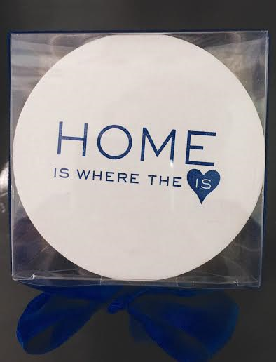 Home Is Where The Heart Is Coasters(100 coasters) collection with 1 products