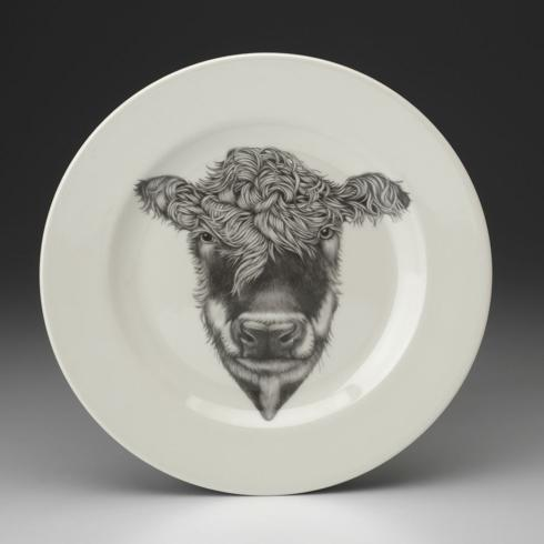 Laura Zindel Hereford Cow Dinner Plate collection with 1 products