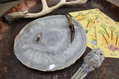 Brasil Home Sodalite and Gold Small Serving Tray collection with 1 products