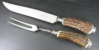 PS The Letter Exclusives   Michael Feinberg Stag 2 Piece Carving Set $272.00