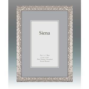 Tizo Designs   Siena Silver Glitter Frame $50.00