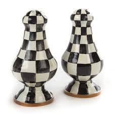 Large Courtly Check Salt & Pepper