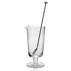 $112.00 Footed Cocktail Mixer and Stirrer