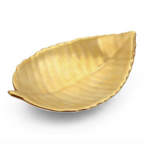 Linden Gold Leaf Dish collection with 1 products