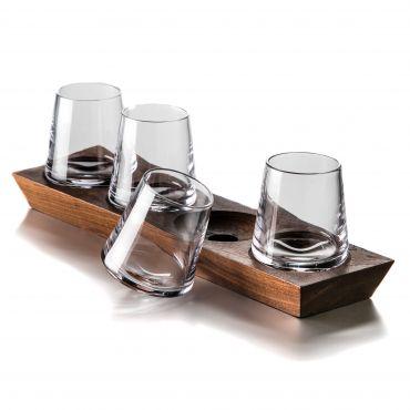 Simon Pearce  Ludlow Whiskey Glass Set of 4 $250.00