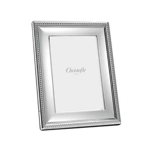 Christofle  Frames 7x9.5 Perles Silver Plate $400.00