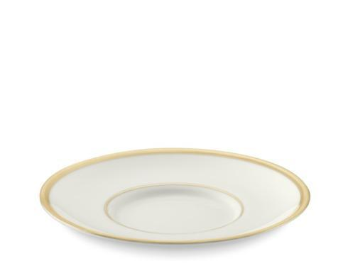 $50.00 Signature Ivory with Gold Saucer