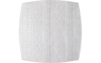 Kim Seybert Inc. Metallic Silver Anaconda Placemat collection with 1 products