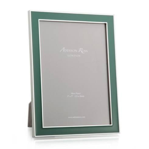 Addison Ross   Fern Green Enamel 5x7 Frame  $62.00