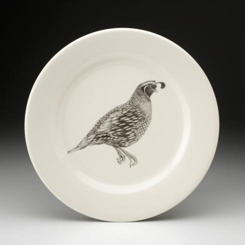 Laura Zindel Quail #1 Dinner Plate collection with 1 products