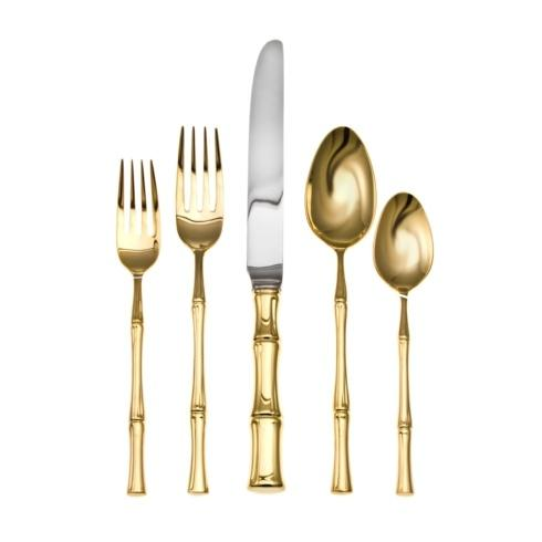 Ricci  Bamboo Bamboo D\'Oro 5pc Place Setting  $125.00