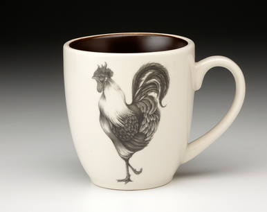 Laura Zindel Rooster Mug collection with 1 products