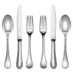 Christofle  Rubans Silver Plate Five Piece Place Setting $597.00