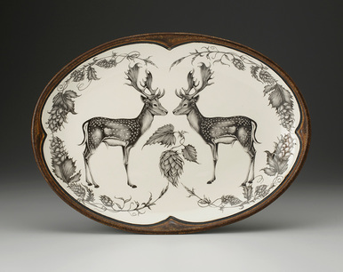 Laura Zindel Stag Oval Platter collection with 1 products