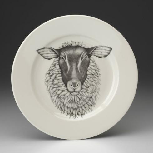 Laura Zindel Suffolk Sheep DInner Plate collection with 1 products