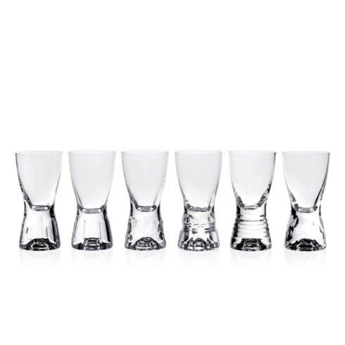 $145.00 Tallulah Set of 6 Shot Glasses