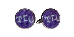 $55.00 TCU Cufflinks