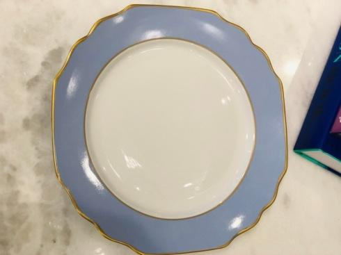 $67.00 Pickard Groegian Light Blue Dinner Plate