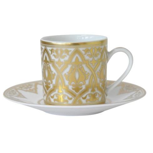Bernardaud  Venise Espresso Cup and Saucer  $168.00
