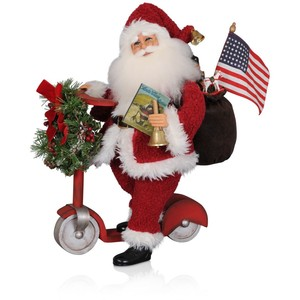 Karen Didion Vintage Scooter Santa collection with 1 products