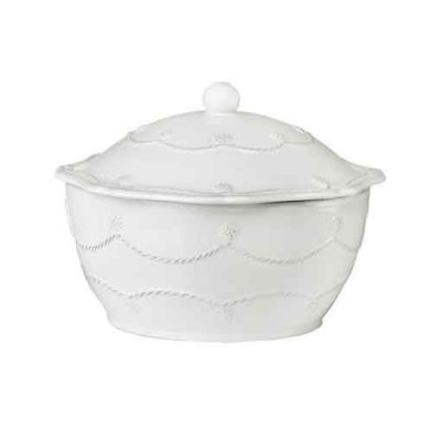 Plum Southern Exclusives   Juliska Large Round Casserole wLid $157.00