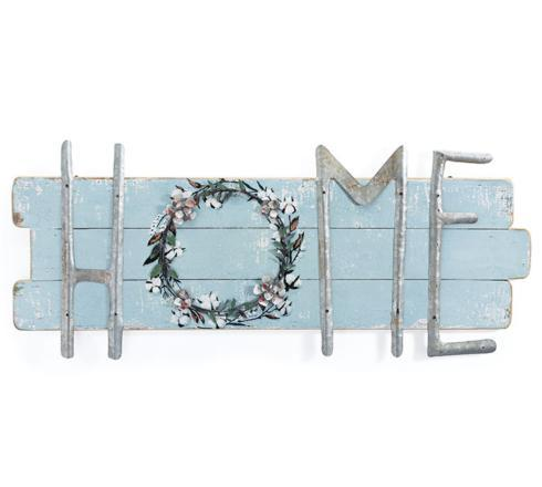 "Plum Southern Exclusives   Home Wall Hanging (15""x37"" $55.00"