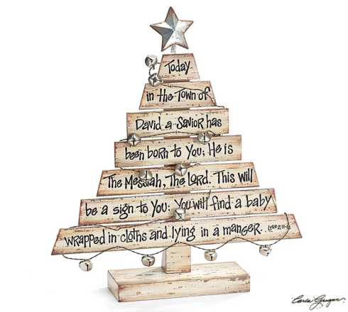 Plum Southern Exclusives   Christmas Tree wScriptures $28.50