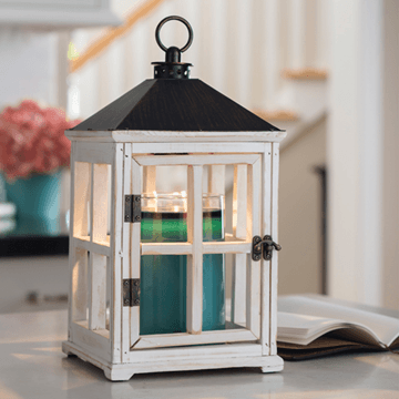 Plum Southern Exclusives   Candle Warmer White Lantern $52.00