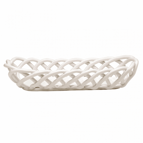 Casafina - Ceramic Woven Baguette Basket collection with 1 products