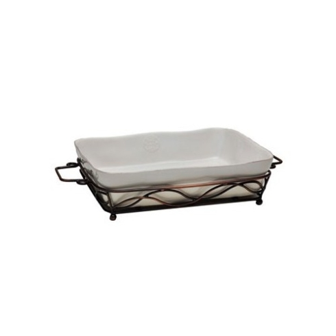 Plum Southern Exclusives   Rectangle Baker with Stand $95.00
