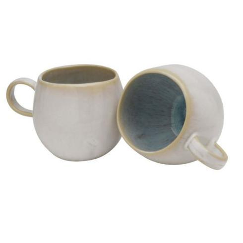 Plum Southern Exclusives   Casafina Ibiza Sea - Mug $22.50
