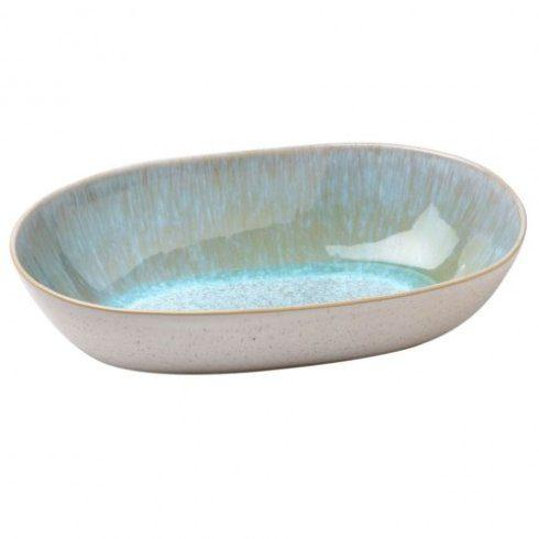 Plum Southern Exclusives   Casafina Ibiza Sea - Medium Oval Serving Bowl $42.00
