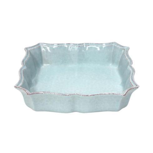 $44.00 Casafina Impressions Blue - Square Baker