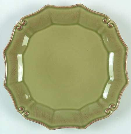 Plum Southern Exclusives   Salad Plate - Vintage Port (Green) $25.00
