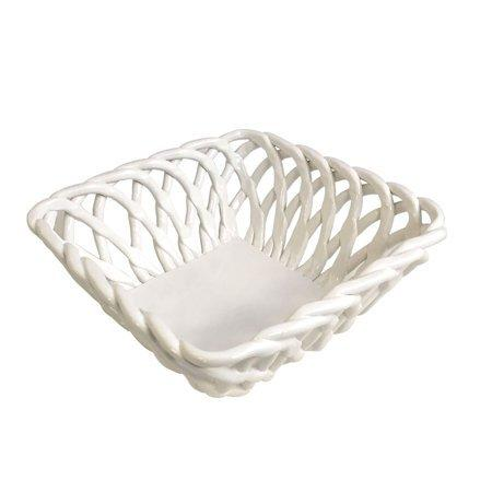 $53.00 Casafina - Ceramic Woven Square Basket