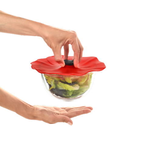 """$11.00 Silicone Lid - Poppy Small 6"""""""