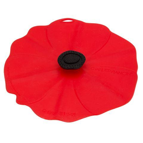 $16.50 Lid - Large - Poppy 11""