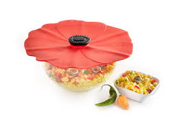 $11.25 Silicone Lid - Medium Poppy 8""