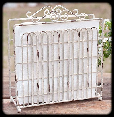 Plum Southern Exclusives   Napkin Holder $20.00